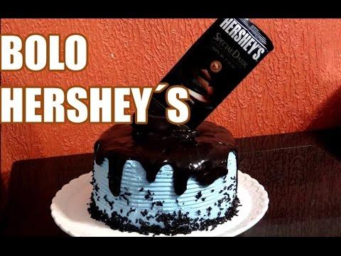 Bolo Hershey´s 01 - Hershey´s Cake #FZBL - GIANT HERSHEY BAR CAKE