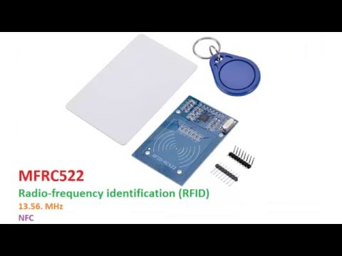 MF522 RFID Write data to a tag.
