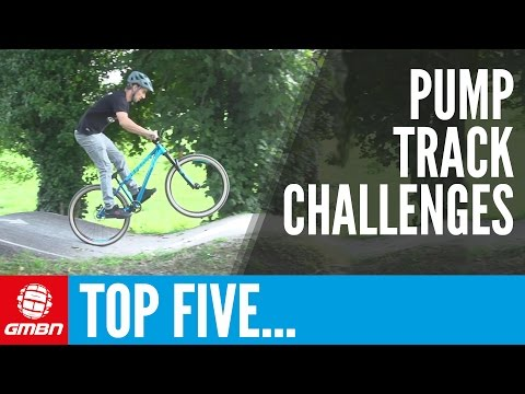 Top 5 Pump Track Challenges | Essential Mountain Bike Skills