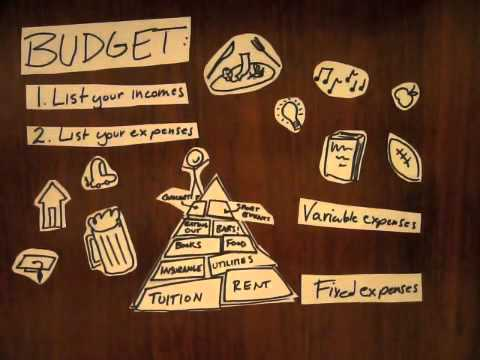 Making a Budget: College Edition