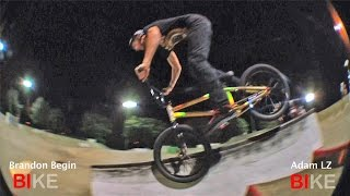 Game of BIKE: Adam LZ Vs. Brandon Begin Round 1
