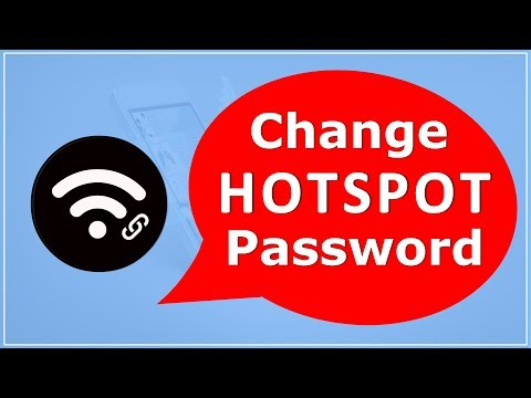 How To Change Hotspot Password on Android