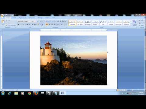 how to write text on image in microsoft word document