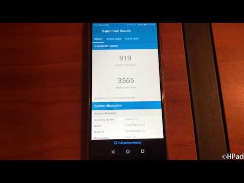 Huawei Mate SE Geekbench Benchmark