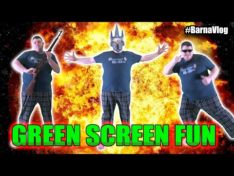 Learn how to use a green screen to improve your videos tutorial