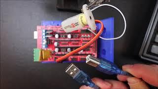 GEEETECH A20M 3D Touch sensor install and firmware update