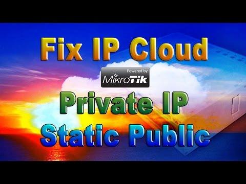 Mikrotik IP Cloud Solution Access Mikrotik remotely dynamic IP