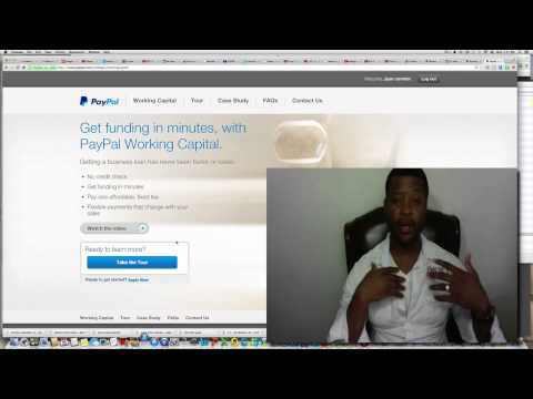 How To Get A Paypal Loan 2018   Apply For A Paypal Loan