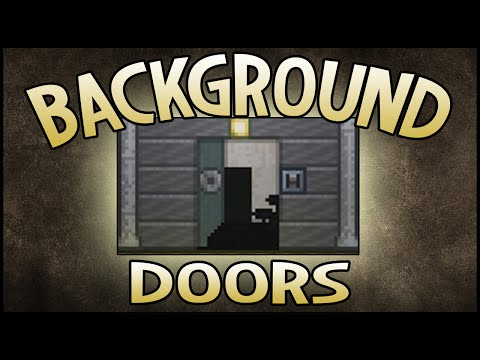 Terraria | Let's Make Background Doors!