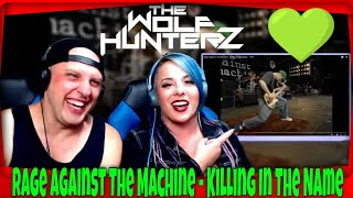 Rage Against The Machine - Killing In The Name (1993) THE WOLF HUNTERZ Reactions