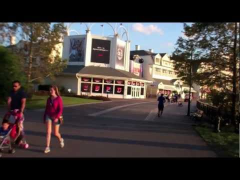 Walkway from Epcot to Disney's Hollywood Studios Walt Disney World