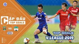 Top Goals Becamex Bình Dương vs Hoàng Anh Gia Lai - Tổng hợp bàn thắng V.League 2019