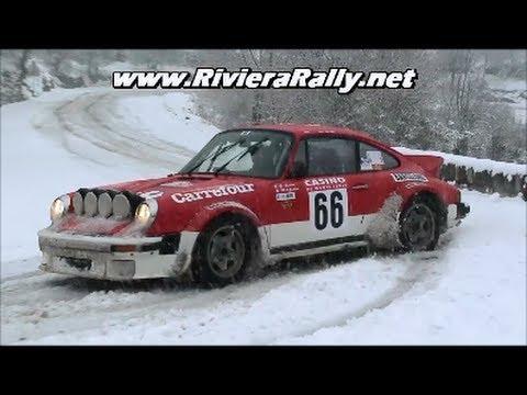 Rallye Monte Carlo historique sospel - luceram