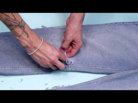 How to rip your jeans & denim | ASOS menswear style tutorial