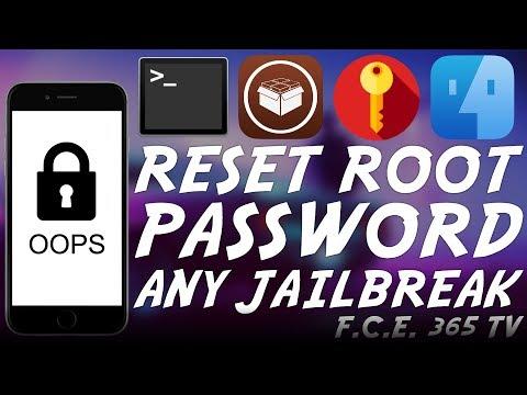How to Reset Forgotten iOS ROOT Password (Any Jailbreak/iOS)