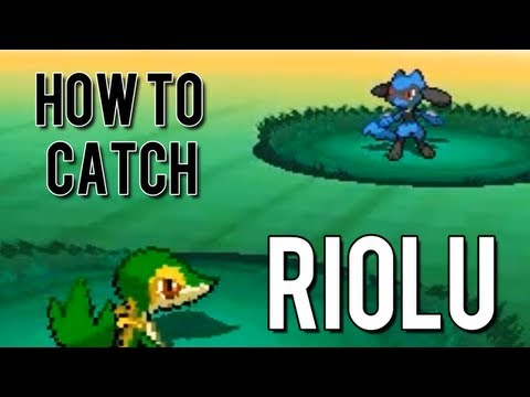 How to Catch Riolu - Pokemon Black 2 and White 2