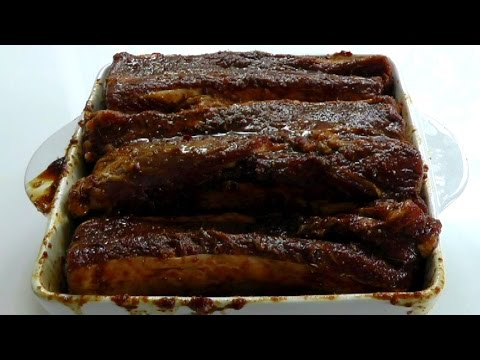 How to cook Short Beef Ribs recipe with delicious marinade