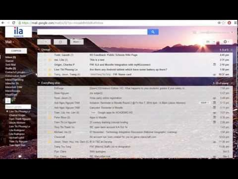 Gmail - unread emails