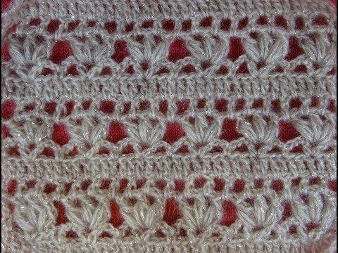 Crochet Pattern *VERY PRETTY AND EASY FLOWER PATTERN *