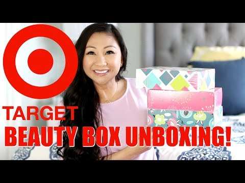 $7 TARGET BEAUTY BOX UNBOXING!
