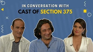 Section 375 | Richa Chadha, Akshaye Khanna and Ajay Bahl's EXCLUSIVE interview