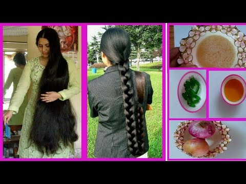How to Get long and thick hair Very Fast Naturally at home (Re- Hair Growth Natural Remedy)