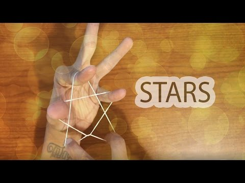 TutorIal How to Make A Star with A Rubber Band