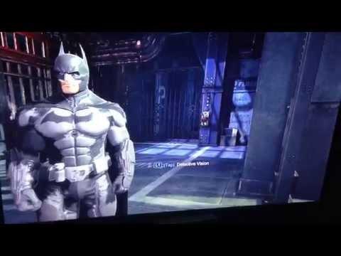 Batman Arkham Origins Scarecrow / Hush reference