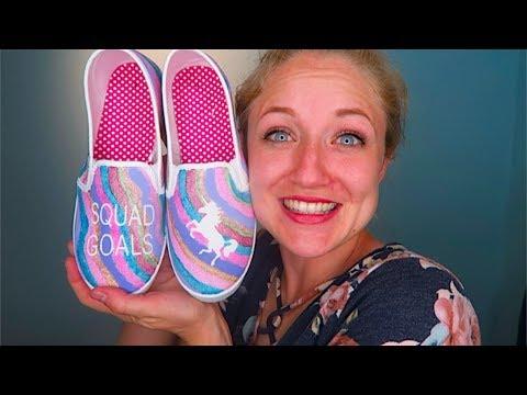 How To Make Unicorn Shoes!