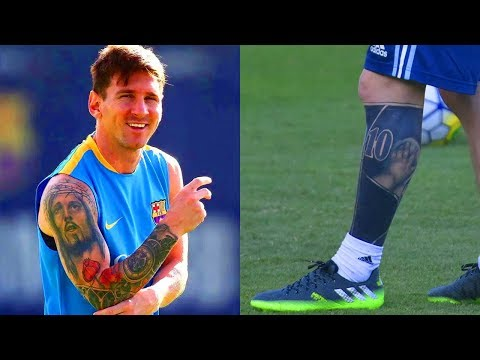 Lionel Messi's Tattoos Meanings