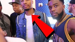 ASKING DAMIAN LILLARD HOW HE FEELS ABOUT KYRIE LEAVING CLEVELAND!