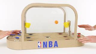 How To Build Basketball Board Game for 2 Players