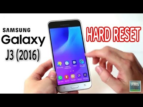 How to Hard Reset  Galaxy J3 (2016) Pattern Lock Remove 2018