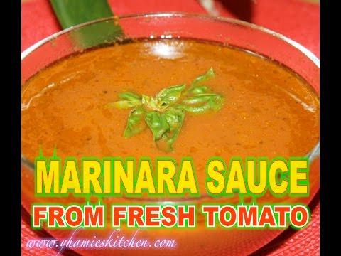 How To Make Marinara Sauce From Fresh Tomatoes