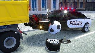 Wrecker Truck Assembly Tyre - Wheel City Heroes (WCH) - Sergeant Lucas the Police Car New Cartoon