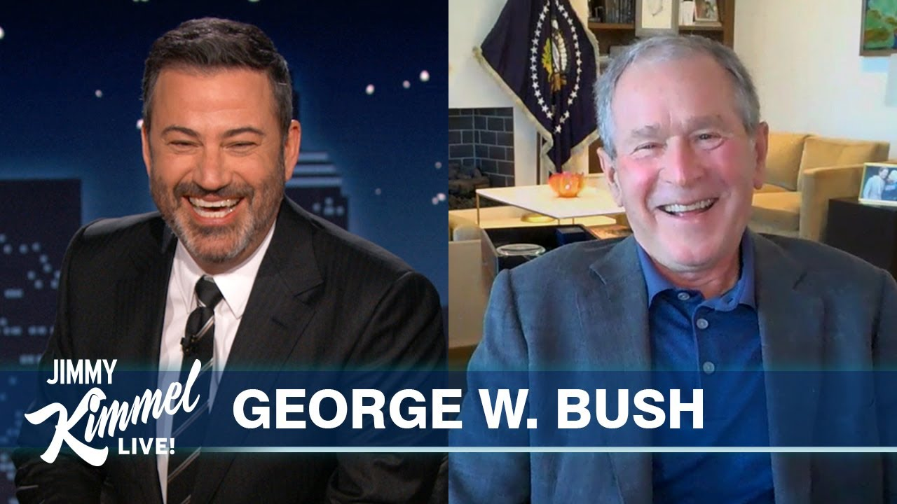 President George W. Bush on Friendship with Michelle Obama, Immigration, UFOs & Trump's Inauguration
