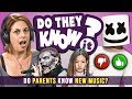 Do Parents Know Popular New Music? (Marshmello, Slipknot, BLACKPINK)