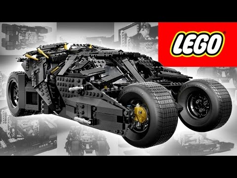 LEGO Dark Knight Tumbler Build Video + Giveaway