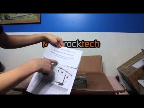 Ergotech Triple Horizontal LCD Monitor Arm Desk Stand Unboxing