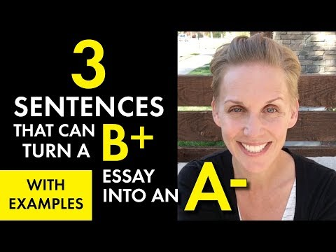 How to Write a Concluding Paragraph, Easy Essay Conclusion Format, High School Teacher Vlog