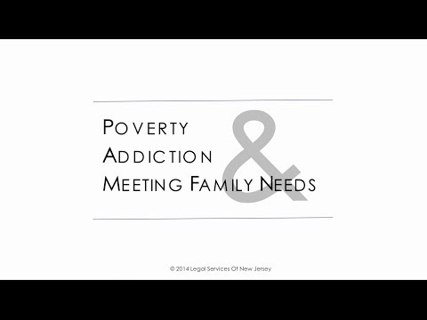 Poverty, Addiction, and Meeting Family Needs