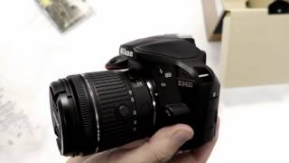 Open Box: Nikon D3400