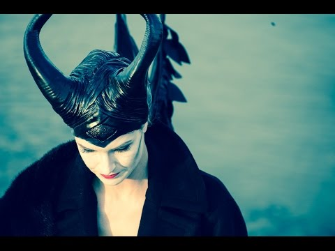 Halloween: Maleficent Make-up Tutorial