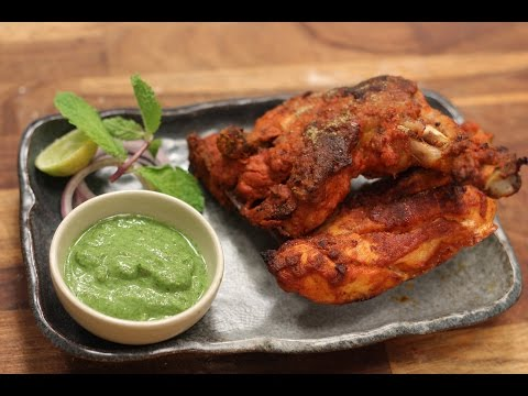 Tandoori Chicken And Pudinyachi Chutney | Majha Kitchen | Sanjeev Kapoor Khazana