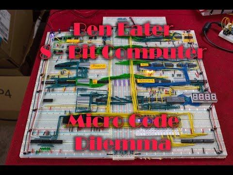 8 Bit computer   Microcodes   A problem!
