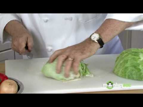 How To Cut Lettuce