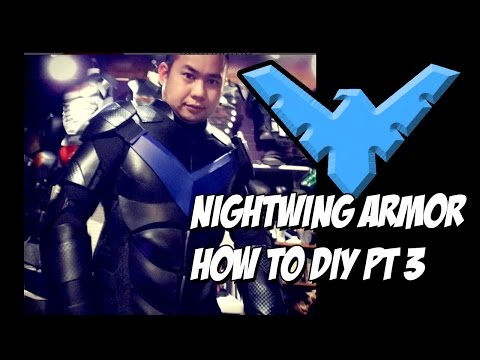 Nightwing How to DiY Cosplay costume body Armor