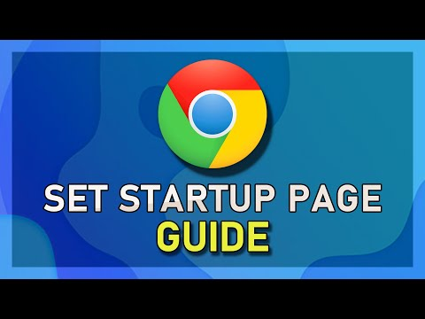 Chrome - How to Set Homepage & Startup Page