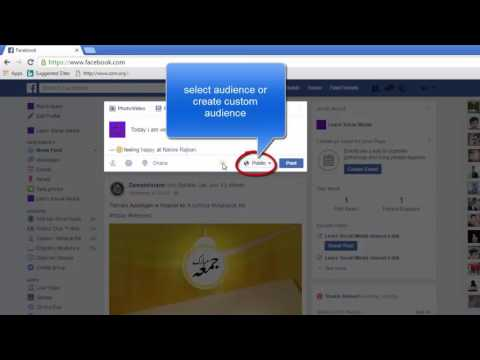 How to Post a Status on Facebook Update Status, Add