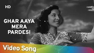 Ghar Aaya Mera Pardesi - Medley Song (Dream Sequance ) - Nargis - Raj Kapoor - Awaara - Lata Hits